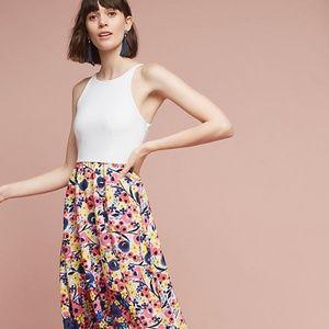 Anthropologie Bethanie High-Low Dress